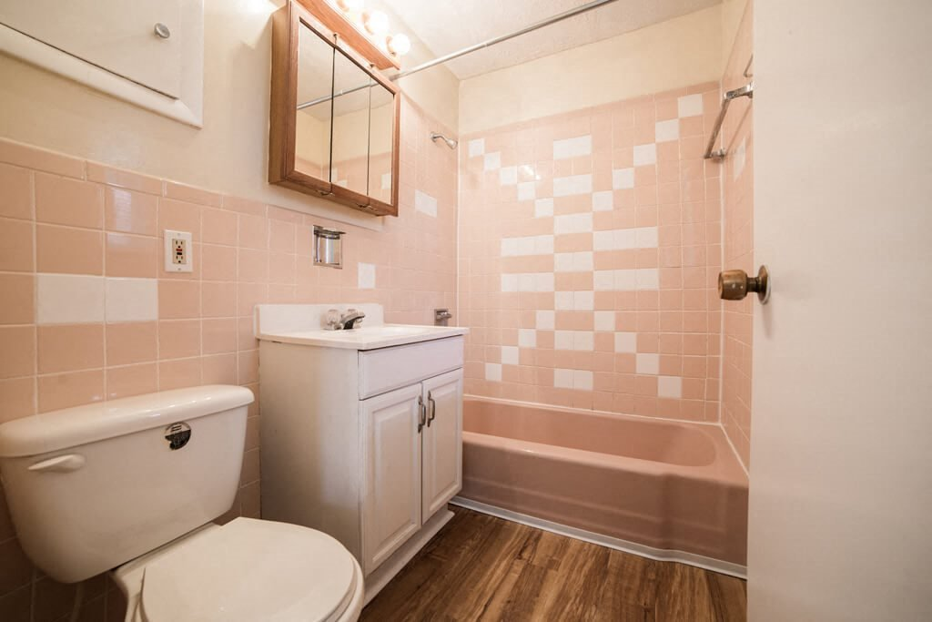 Large Soaking Tub In Bathroom, at Buckingham Monon Living, Indianapolis, IN 46220