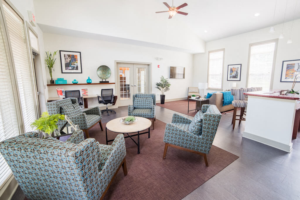 Charming Living Spaces, at Buckingham Monon Living, Indianapolis