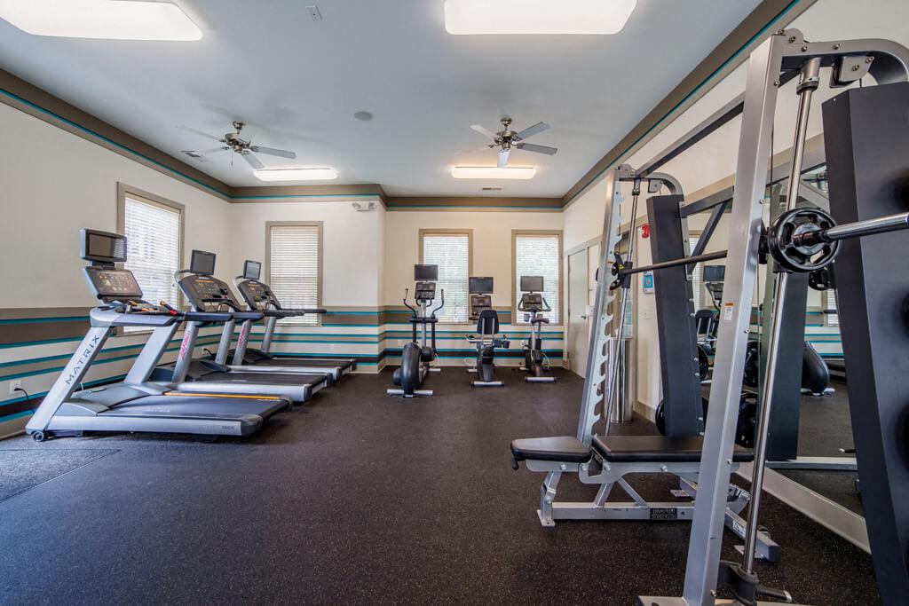 Fitness Center Access, at Buckingham Monon Living, Indiana