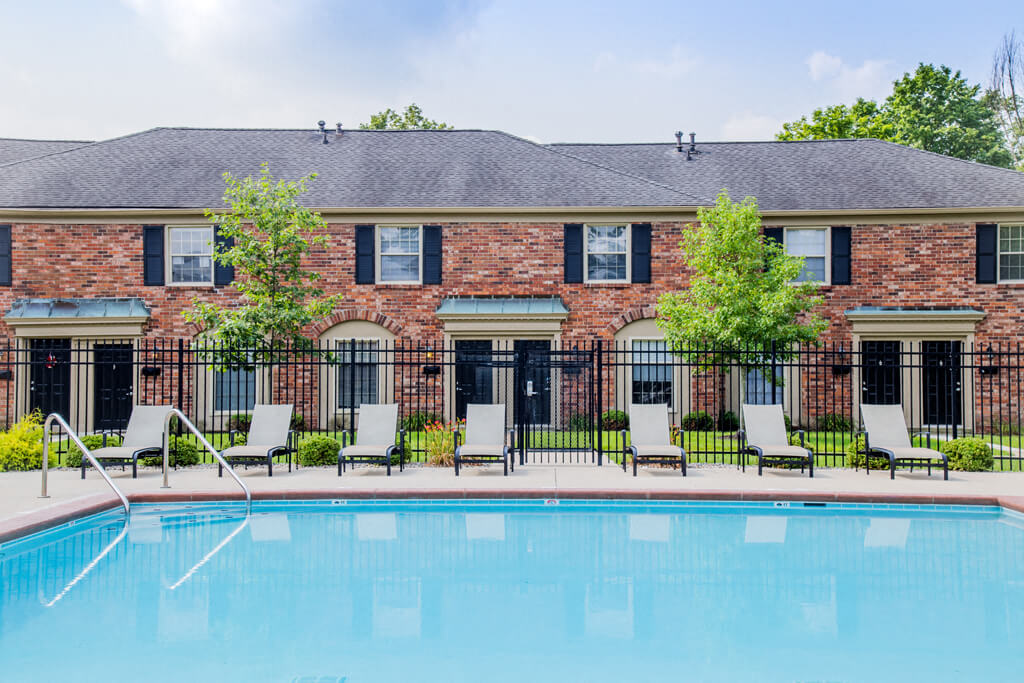 Beautiful Landscape with Lovely Wooded Views and Duck Pond, at Buckingham Monon Living, Indiana