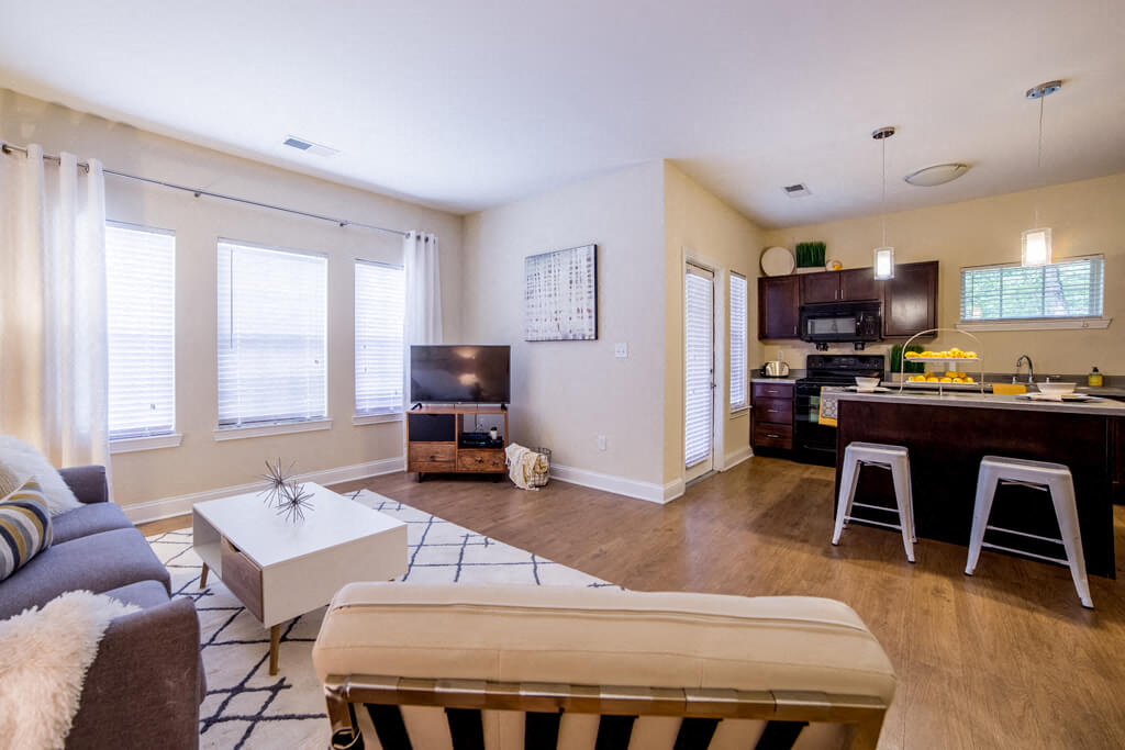 Living Room With Television, at Buckingham Monon Living, Indianapolis