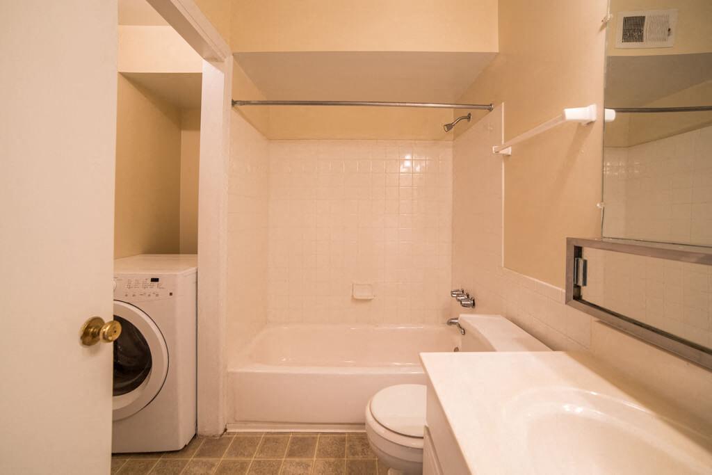 Upgraded Bathroom Fixtures, at Buckingham Monon Living, Indianapolis