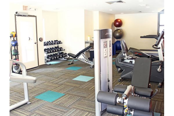 Fitness Center, at Tech Center Square Apartments, VA, 23602