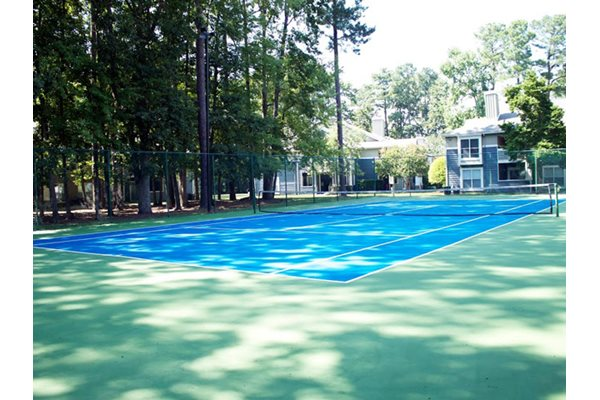 Tennis Court, at Tech Center Square Apartments, Newport News, Virginia