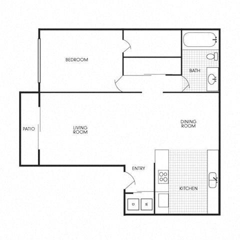 Audubon Square Floorplan