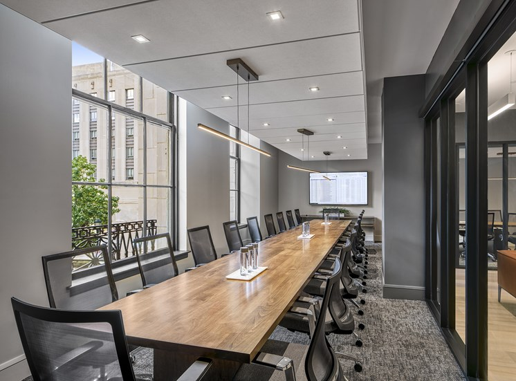 Conference Room at The Franklin Residences, Philadelphia, PA