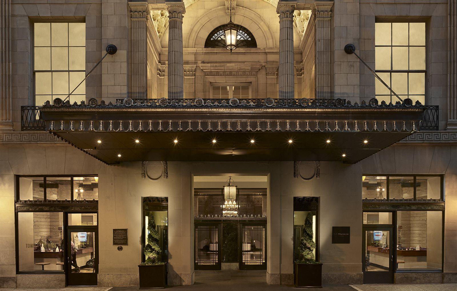Elegant Exterior View Of Property at The Franklin Residences, Philadelphia, PA