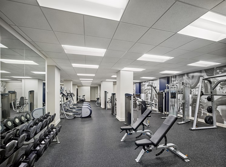 Fitness Center at The Franklin Residences, Philadelphia, PA