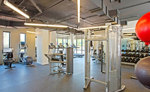 New Apartment 24  hour fitness center