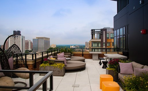 Rooftop Deck at Aurora, Maryland