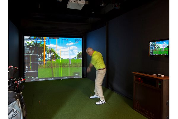 Golf Simulator at Aurora, Maryland