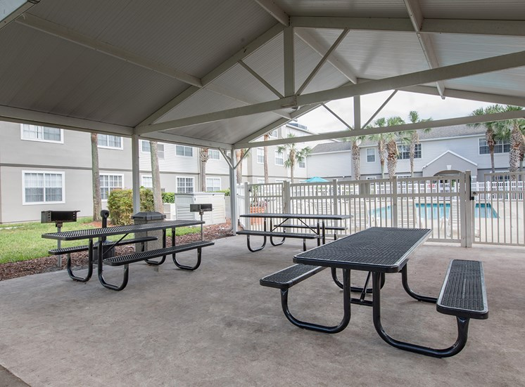 Lexington Club at Hunters Creek Apartments for rent in Deland, FL. Make this community your new home or visit other ConcordRENTS communities at ConcordRENTS.com. Picnic area