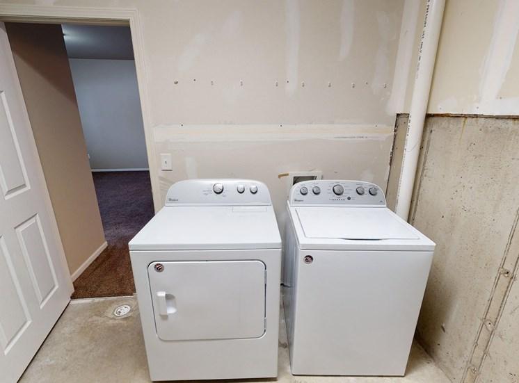 laundry room, washing machine