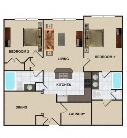 Calypso Floor Plan 3