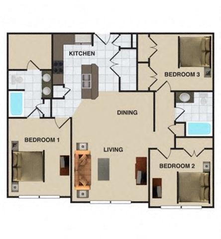 Hunley Floor Plan 4