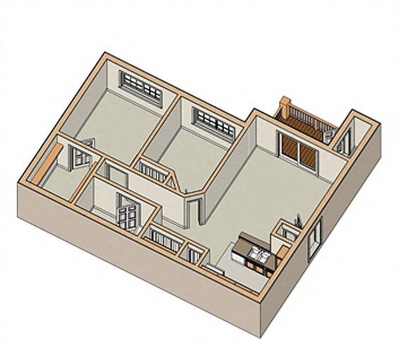 Swansea and OFallon IL Apartment Floor Plans