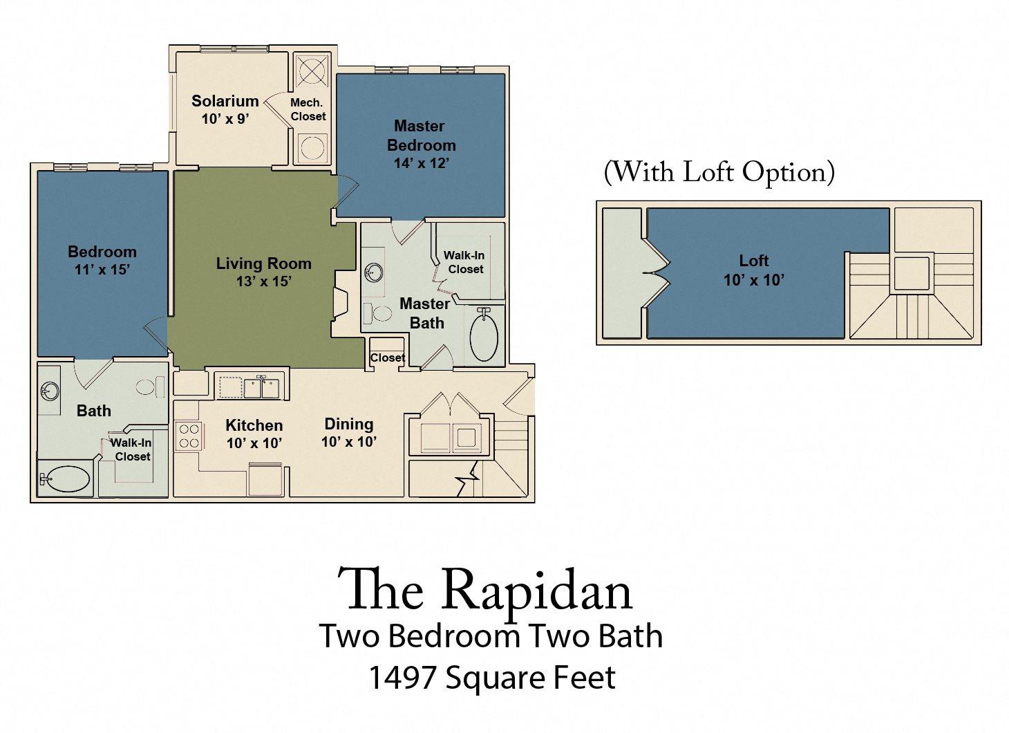 The Rapidan Floor Plan 3