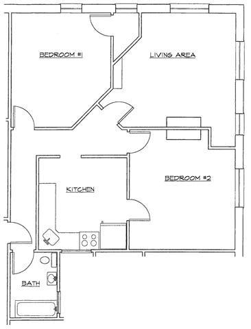 Two Bedroom-B Floor Plan 8