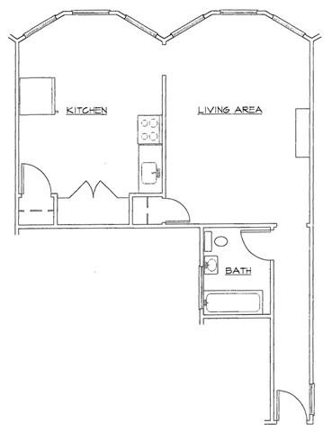 Studio-A Floor Plan 10