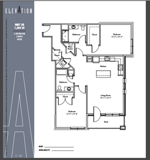 Two Bedroom Corner A