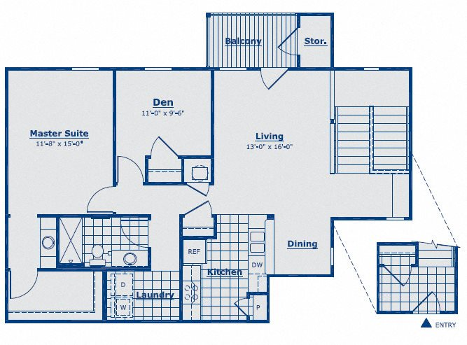 The Diamond Floor Plan 1