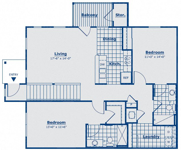 The Granite Floor Plan 10