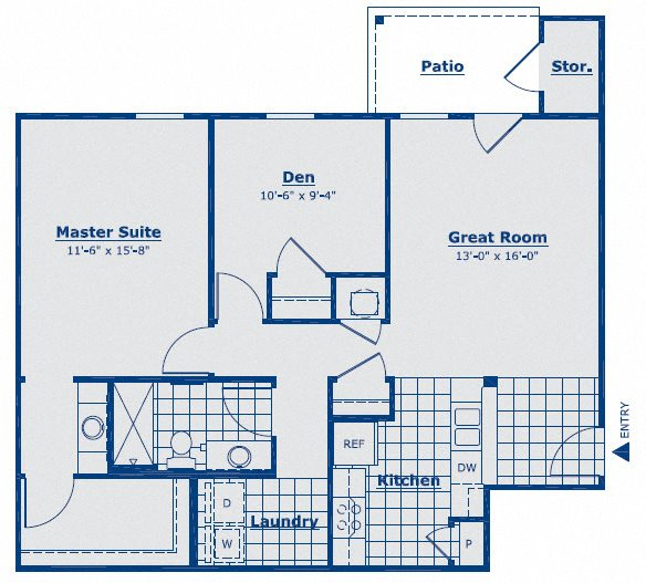 The Opal Floor Plan 5