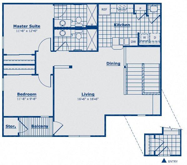 The Sapphire Floor Plan 8