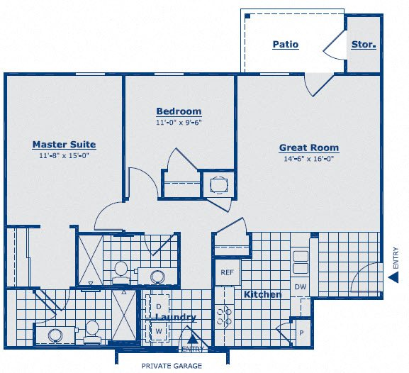 The Topaz Floor Plan 7