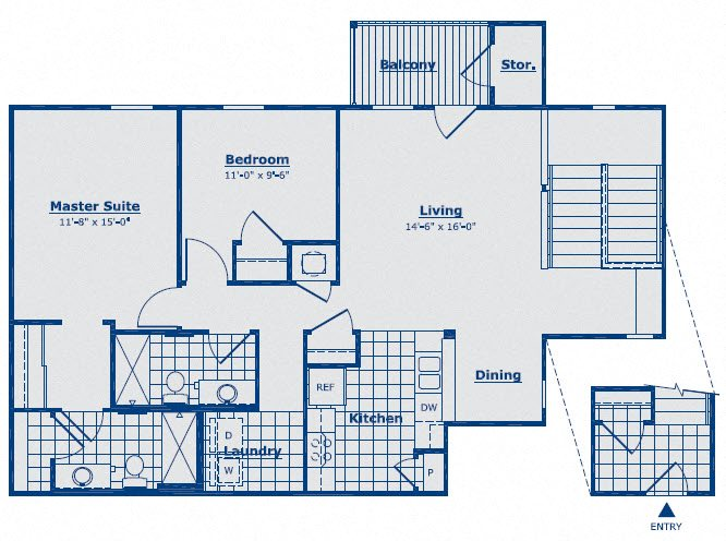 The Turquoise Floor Plan 11
