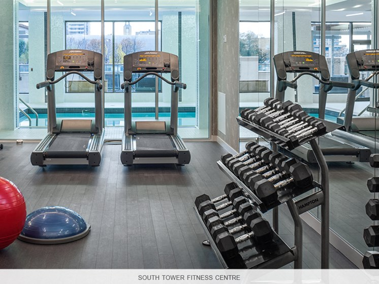 Fully Equipped Fitness Room South Tower