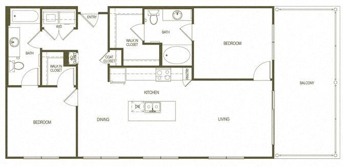 Floor Plans Of Cevallos Lofts In San Antonio Tx