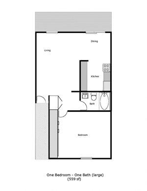 Tradewinds - 1189 Dana Drive, Fairfield - 1 Bed 1 Bath (Large)