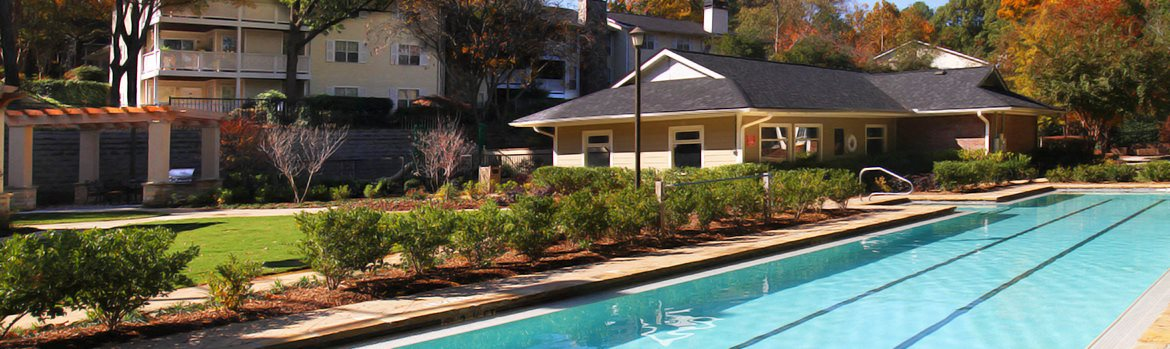 Lap Pool at Apartment Rentals Near I-75 & I-285