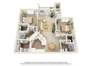 pet friendly apartments at Glen Park Apartment Homes in Smyrna, GA