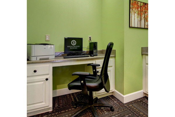 Business Center at Brentwood Downs Apartment Homes in Lilburn, Georgia, GA