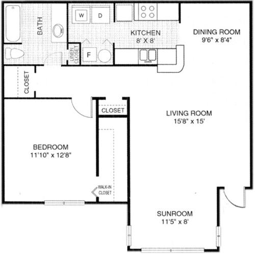 Apartmentreviews Com: Floor Plans Of Windsor Landing In Morrow, GA