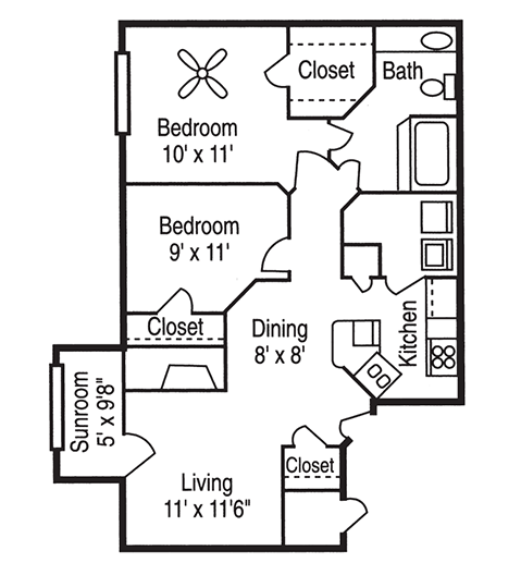 Apartment Ratings Com: Floor Plans Of Peppertree In Charlotte, NC