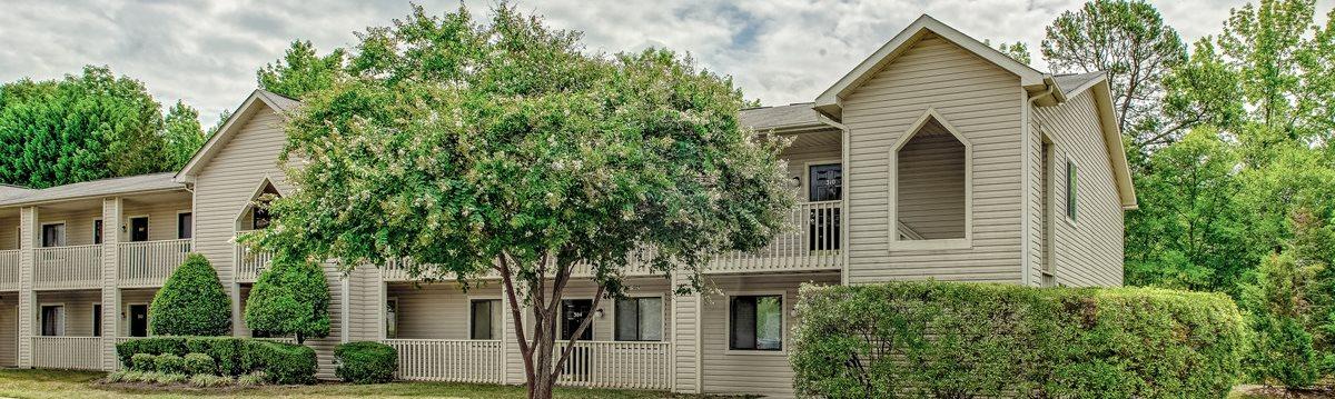 Apartment Buildings at Davidson Apartment Homes in Concord, North Carolina, NC
