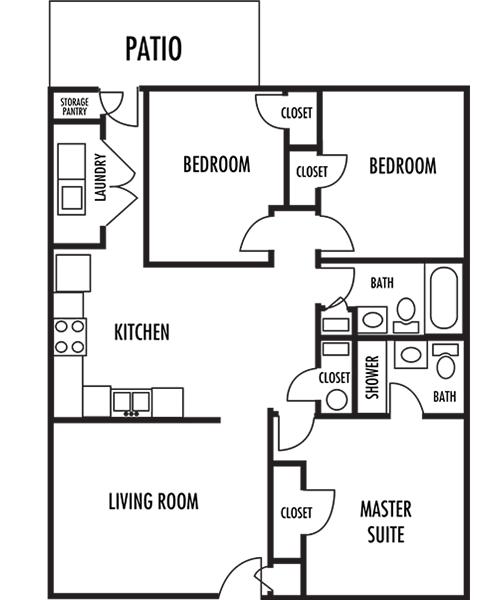 Huntersville Apartments: Floor Plans Of Huntersville In Huntersville, NC