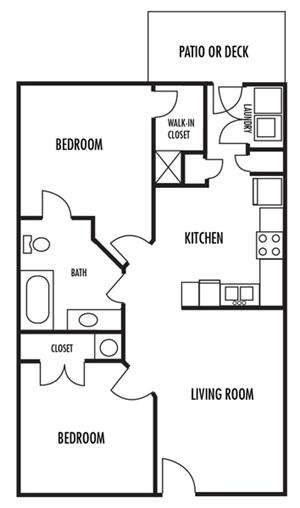 Woodbrook Apartment Homes, Monroe, North Carolina, NC