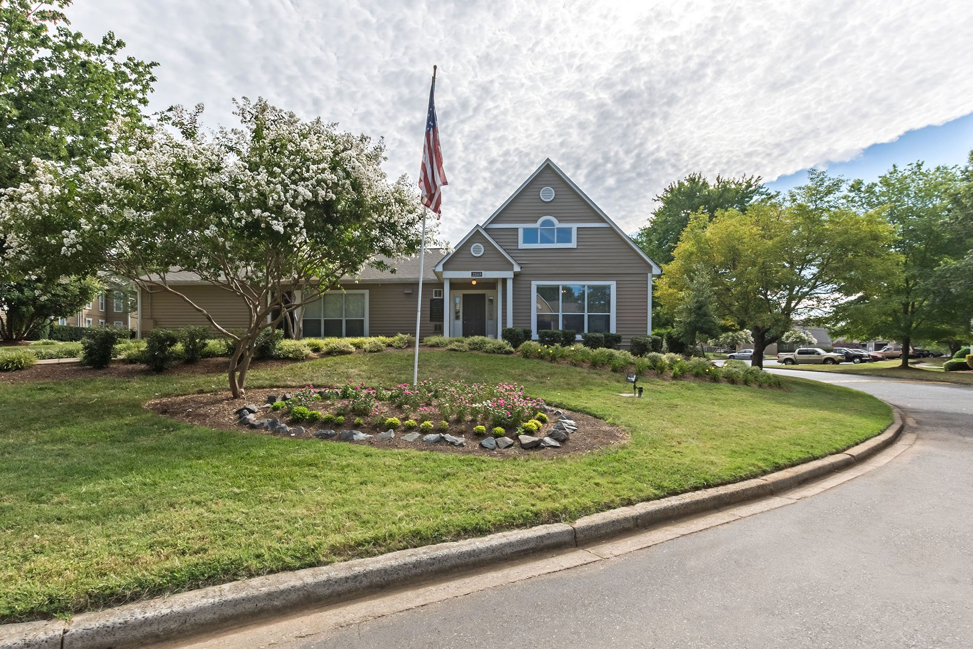 Leasing Office at Chase On Monroe Apartments in Monroe, North Carolina, NC