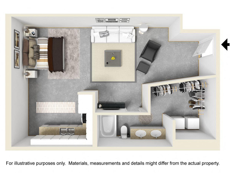F1 Floor Plan 1
