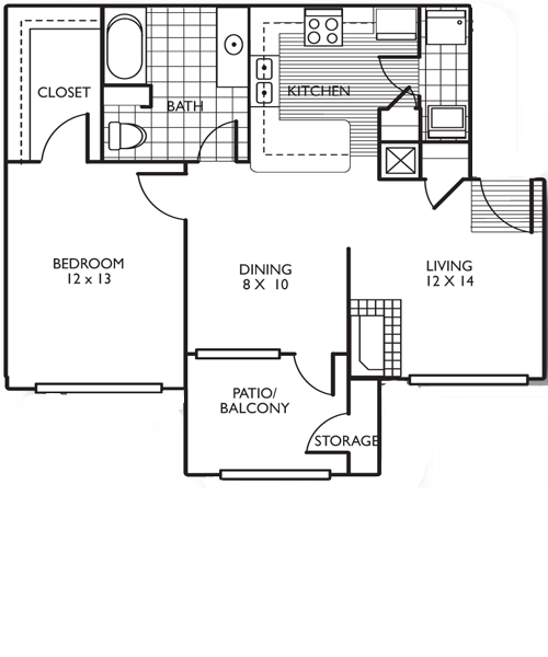The San Antonio Floor Plan 1