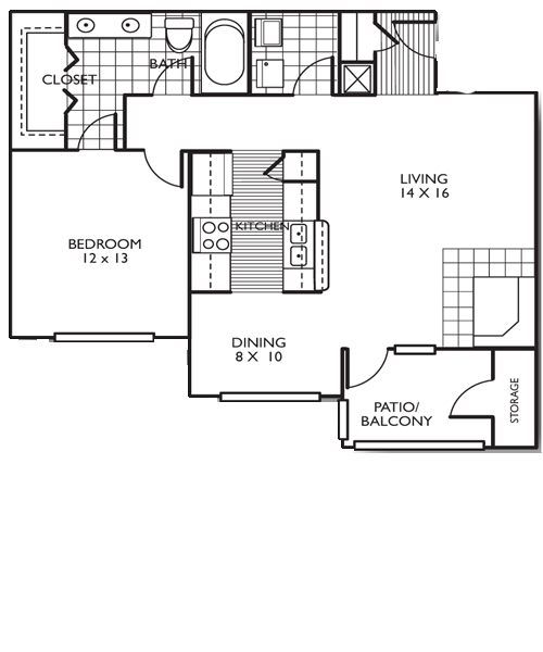 The El Paso Floor Plan 2