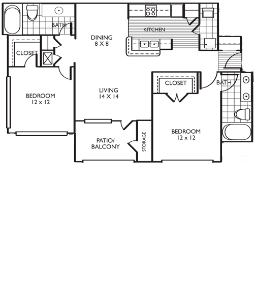 The Laredo Floor Plan 4