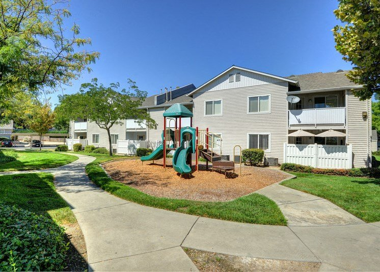 Luxury Apartment Community Outdoor Family Friendly Playground