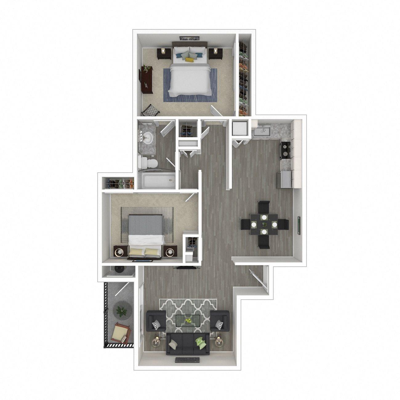 Dutton Floor Plan 4