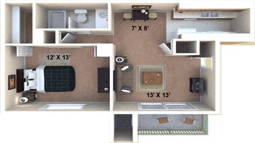 The Plateau Floor Plan 1