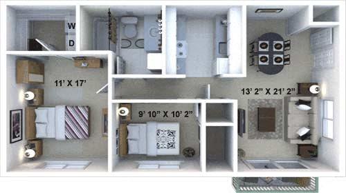 The Scarlet Floor Plan 2